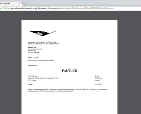 Nétive VMS Geconsolideerde Factuur 1