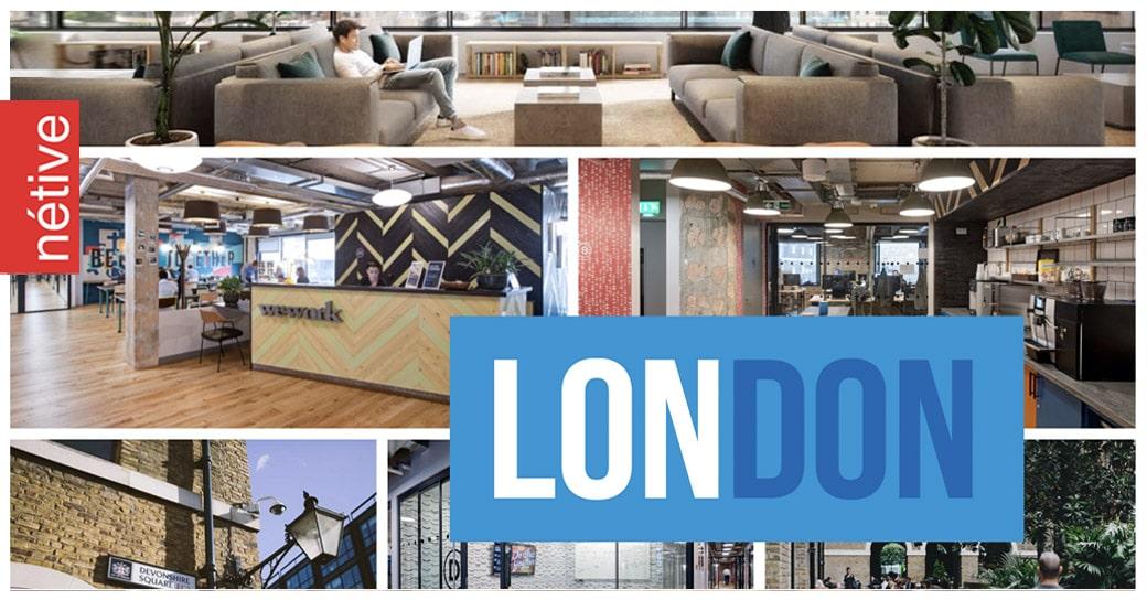 London nieuw kantoor