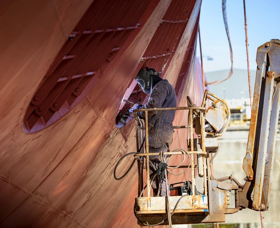 succesverhaal Nétive VMS bij Damen shipyards