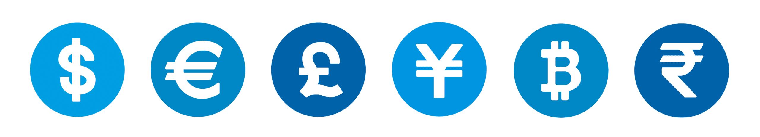 Meerdere valuta