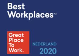 Nétive staat in de top best workplaces van 2020