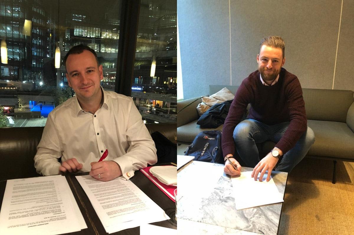 Eerste collegas Netive in London