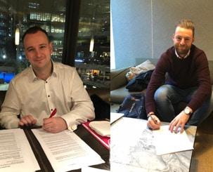 Nieuwe collegas Netive in London