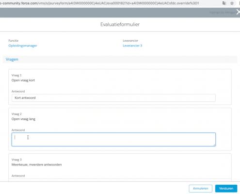 Evaluatieformulier Netive VMS